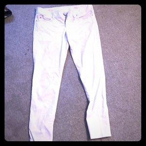 Lilly Pulitzer white worth skinny pants